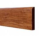 Перваз(цокъл) от уплътнен бамбуков паркет - Кафяв цвят